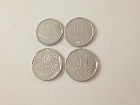 Set De Moedas De 1994 (5 Centavos, 10 Centavos, 25 Centavos)