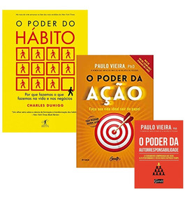 Livro O Poder Da Ação + Poder Do Habito + 1 Livro