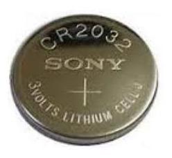 Pilha Moeda Cr2032 Sony Lithium 3v Original 5 Unidades