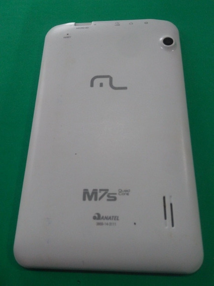 Tampa Traseira Tablet Multilaser M7 S Branca Retirada