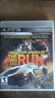 Cd De Juego Need For Speed The Run Ps3