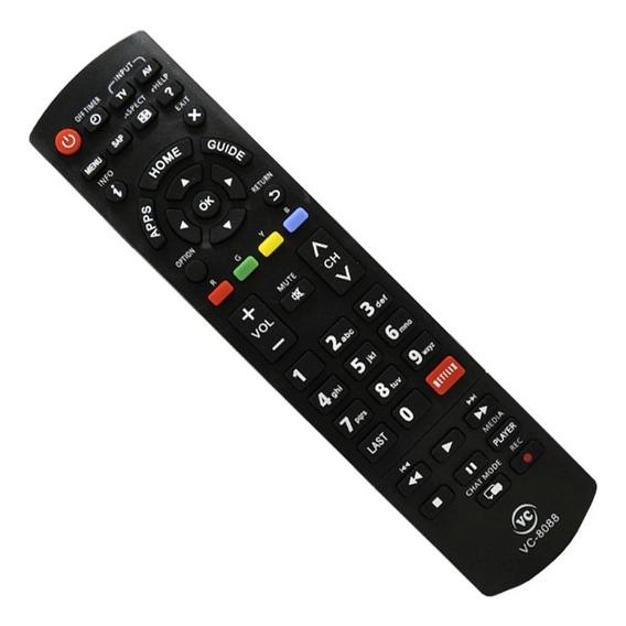 Controle Remoto Tv Panasonic Lcd Vc8088
