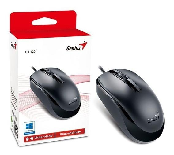 Mouse Genius Dx-120 Usb Preto 1200 Dpi Oferta