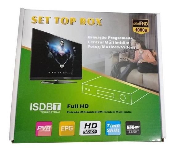 Conversor Digital: Set Top Box.