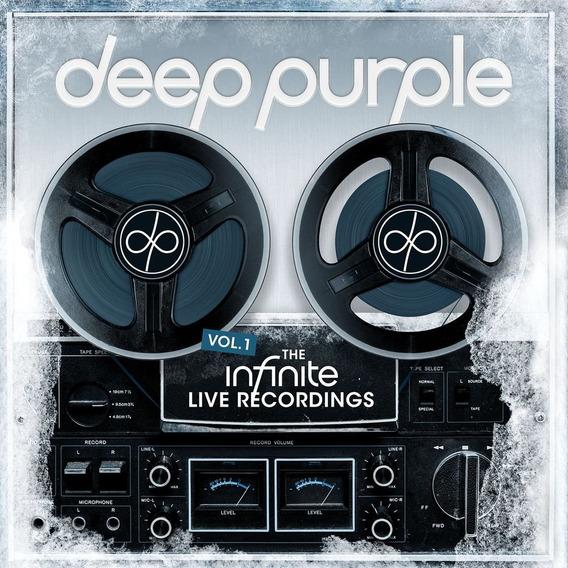 Cd : Deep Purple - Infinite Live Recordings Vol 1 (japanese.