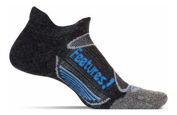 Medias Feetures Merino + Cushion No Show Tab Running Unisex