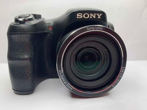 Camera Profissional Sony Cyber-shot Dsc H100 Pouco Usada