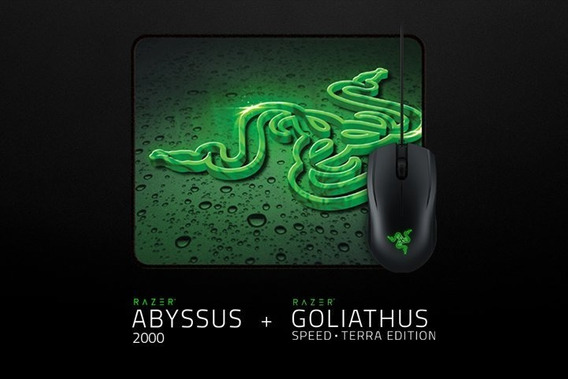 Mouse Razer + Mousepad