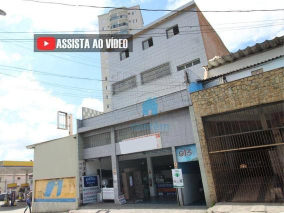 Sl0026- Salão Para Alugar, 80 M² Por R$ 1.400/mês - Centro - Osasco/sp - Sl0026