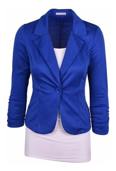Blazer Feminino, Fashion, Alta Costura, 1 Botão