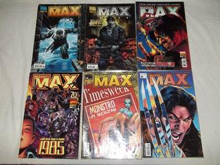 Hq Lote C/ 12 Gibis - Marvel Max - W20