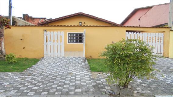 Ref.: 45806 - Casa Em Mongagua, No Bairro Vera Cruz - 3 Dormitórios