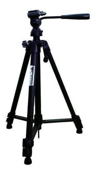 Tripé Weifeng Wt-3220 135cm Para Câmeras E Filmadoras