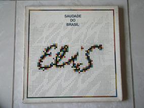Lp Elis Regina: Saudade Do Brasil 1980 Caixa C/ Livreto