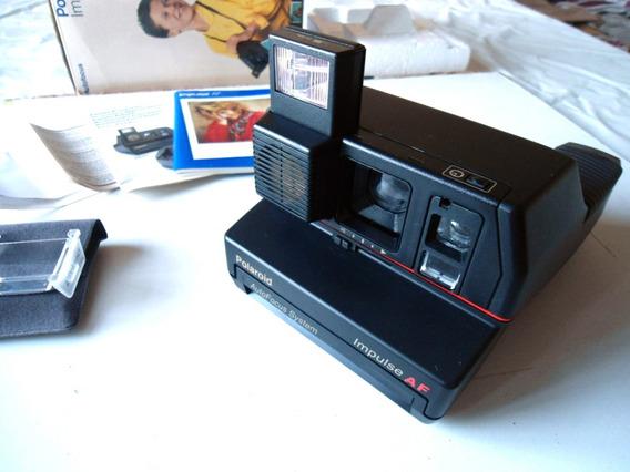 Câmera Instantânea Polaroid 600 Impulse Autofocus - Original