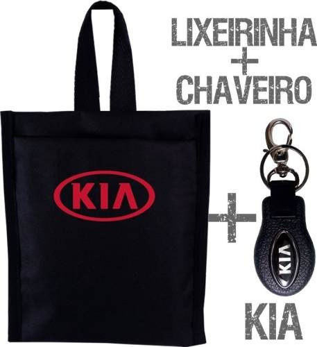 Chaveiro + Lixeirinha Lixinho Carro Kia