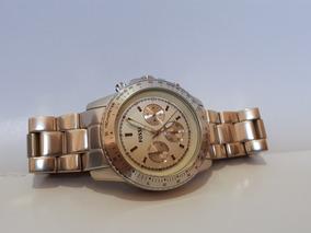Relógio Original Fossil Prateado Feito Em Alumínio