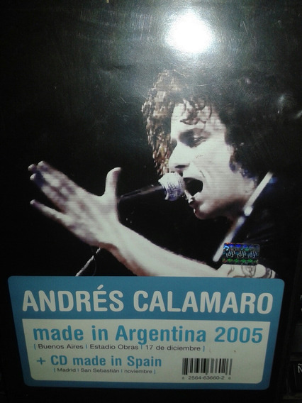 Andres Calamaro Made In Argentina 2005