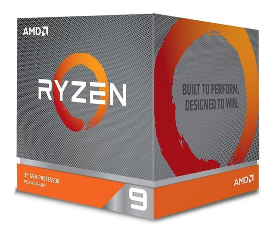 Processador Ryzen 9 3900x Cache 70mb 3.8ghz (4.6ghz Max Turb