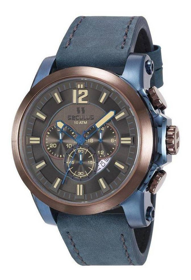 Relógio Seculus Masculino Prime 13025gpsvec2