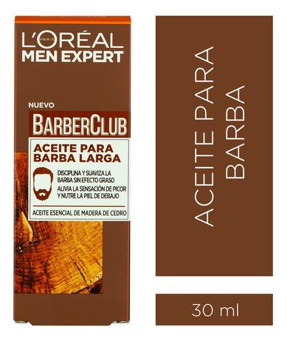 Aceite Para Barba Barber Club 30 X Ml L'oréal Men Expert