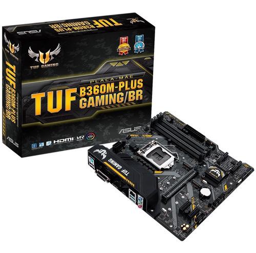 Imagem 1 de 5 de Placa Mãe Asus Tuf B360m Plus Gaming/br Ddr4 Lga 1151