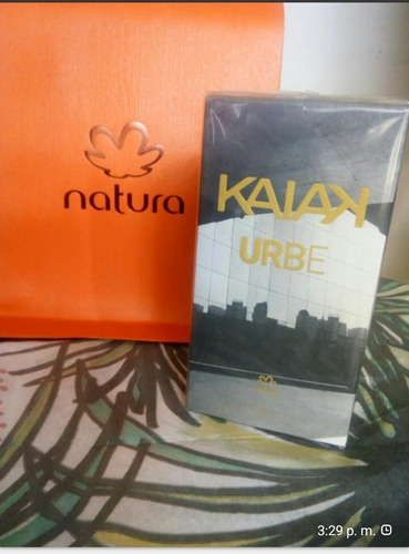 Perfume Kaiak Urbe Hombre Natura Origin - mL a $700