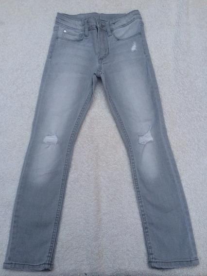 Jean Pantalon Nena Hym Elastizado Skinny Fit Talle 5 Y 6 Año