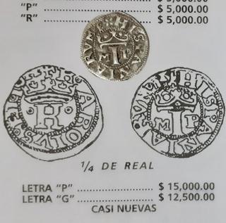 Moneda Macuquina Cuartilla Carlos Y Juana