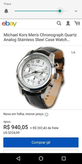 Relógio Michael Kors Original Mk8112 De $1000 Por $480