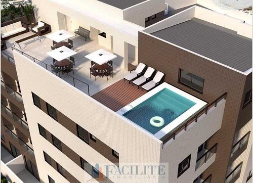 Apartamento Com Área De Lazer No Bessa, João Pessoa/pb - 22562-11043