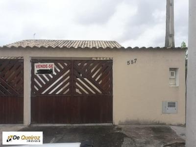 Casa Em Itanhaém, No Bairro Savoy, Lado Morro - 1752