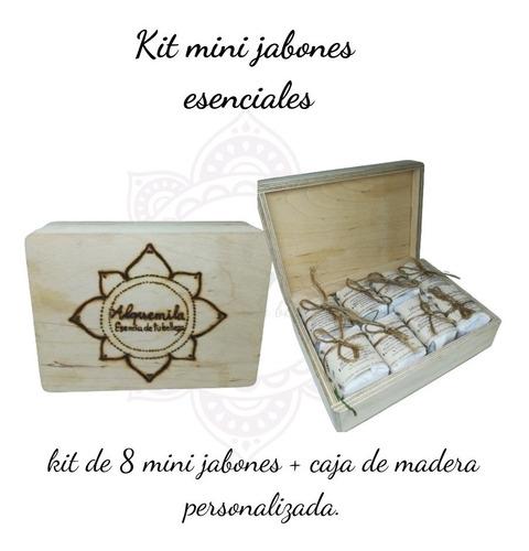 Kit Regalo Mini Jabones Naturales Orgán - g a $354