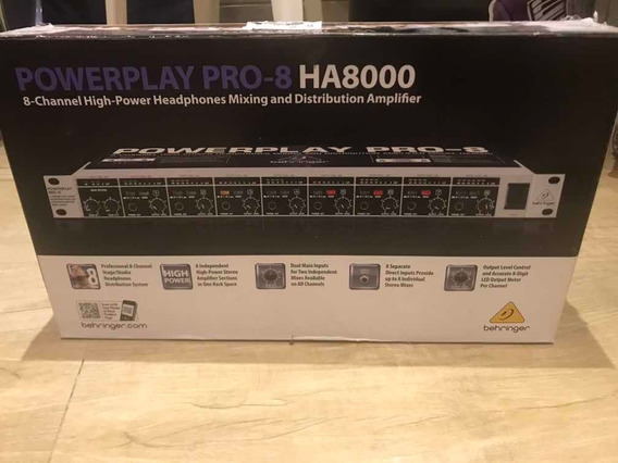 Amplificador Behringer Power Play Ha8000