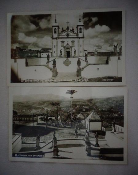 Cartão Postal Congonhas Do Campo Minas Gerais