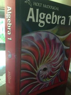 Libro De Texto Algebra 1 De La Editorial Holt Mcdougal