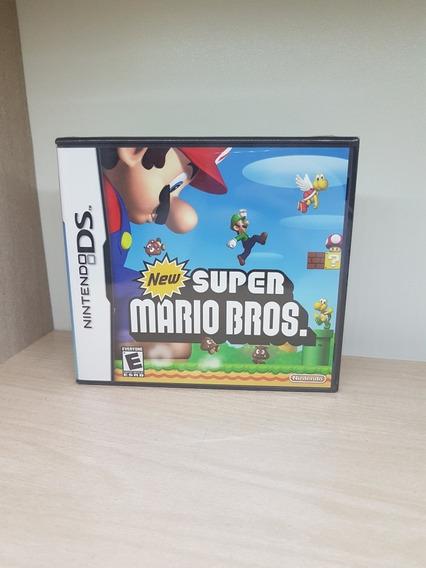 New Mario Bros. Ds Nds 3ds Novo Lacrado Raridade