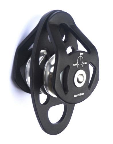 Polia Dupla Aluminio Oscilante Compact 25kn Ce En - Sideup