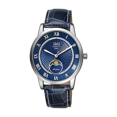 Reloj Q&q Qz10j318y Azul Hombre