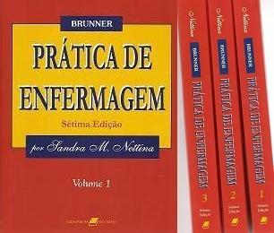 Prática De Enfermagem. 7ªed. Nettina. 3 Vol - Frete Grátis