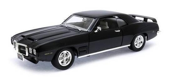 1969 Pontiac Firebird Trans Am Preto - 1:18 - Yat Ming