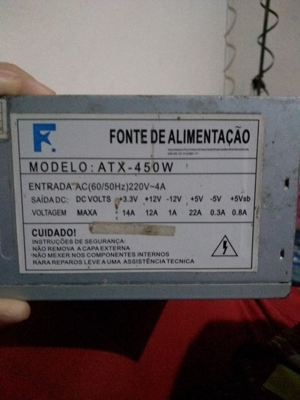 Fonte Real 450w