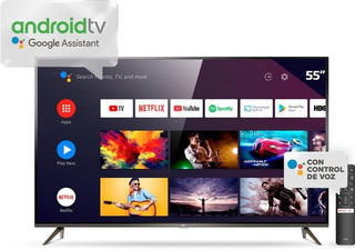 Smart Tv Led 55 4k Con Android L55p8m Tcl