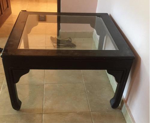 Mesas Y Repisas En Caoba