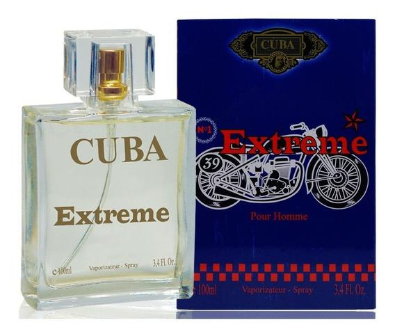 Perfume Cuba Extreme Edp Masculino 100ml Lançamento