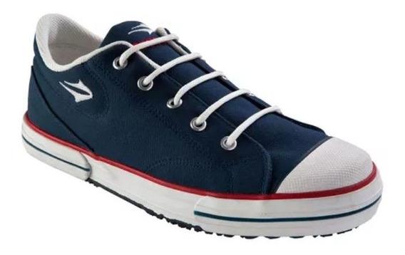 Zapatillas Topper Nova Low Azul Insignia - 083302