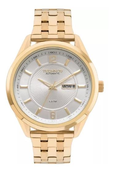 Relógio Technos Automático Classic 8205nl/4k Original