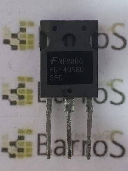 Fgh40n60sfd - Fgh40n60 - 40n60 - 40a 600v To247 - Original