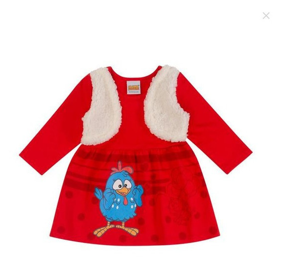 Vestido De Bebe Menina Infantil, Roupa Bebe Festa Aniversari