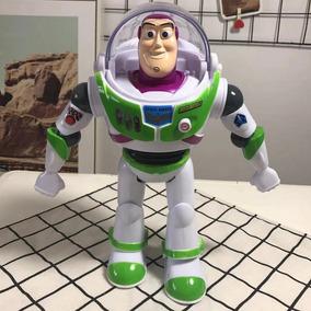 Buzz Lightyear Toy Story Articulado 25 Cm Com, Luz E Som